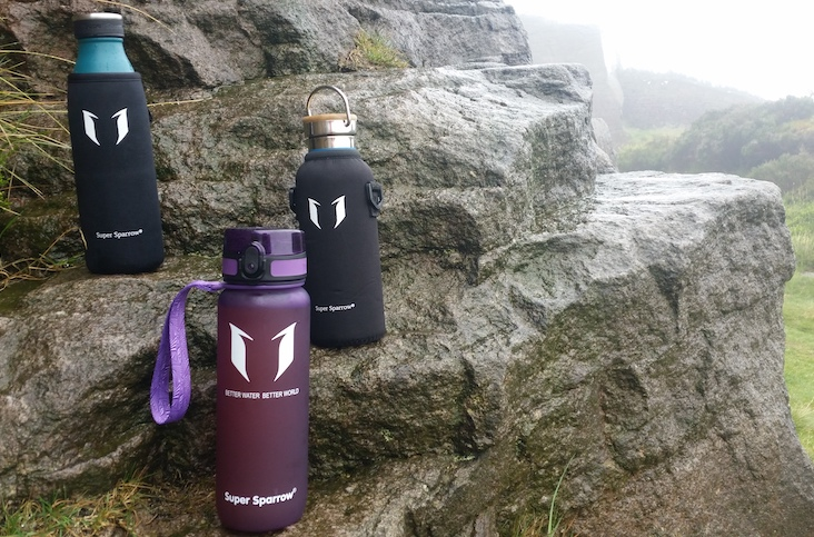 Super Sparrow Water Bottles